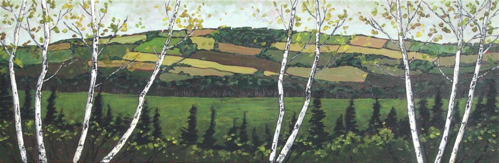 """Pictou County"" original fine art by Sage Mountain"