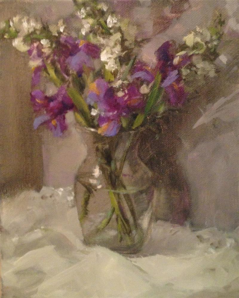 """Quiet contemplation"" original fine art by Krista Eaton"