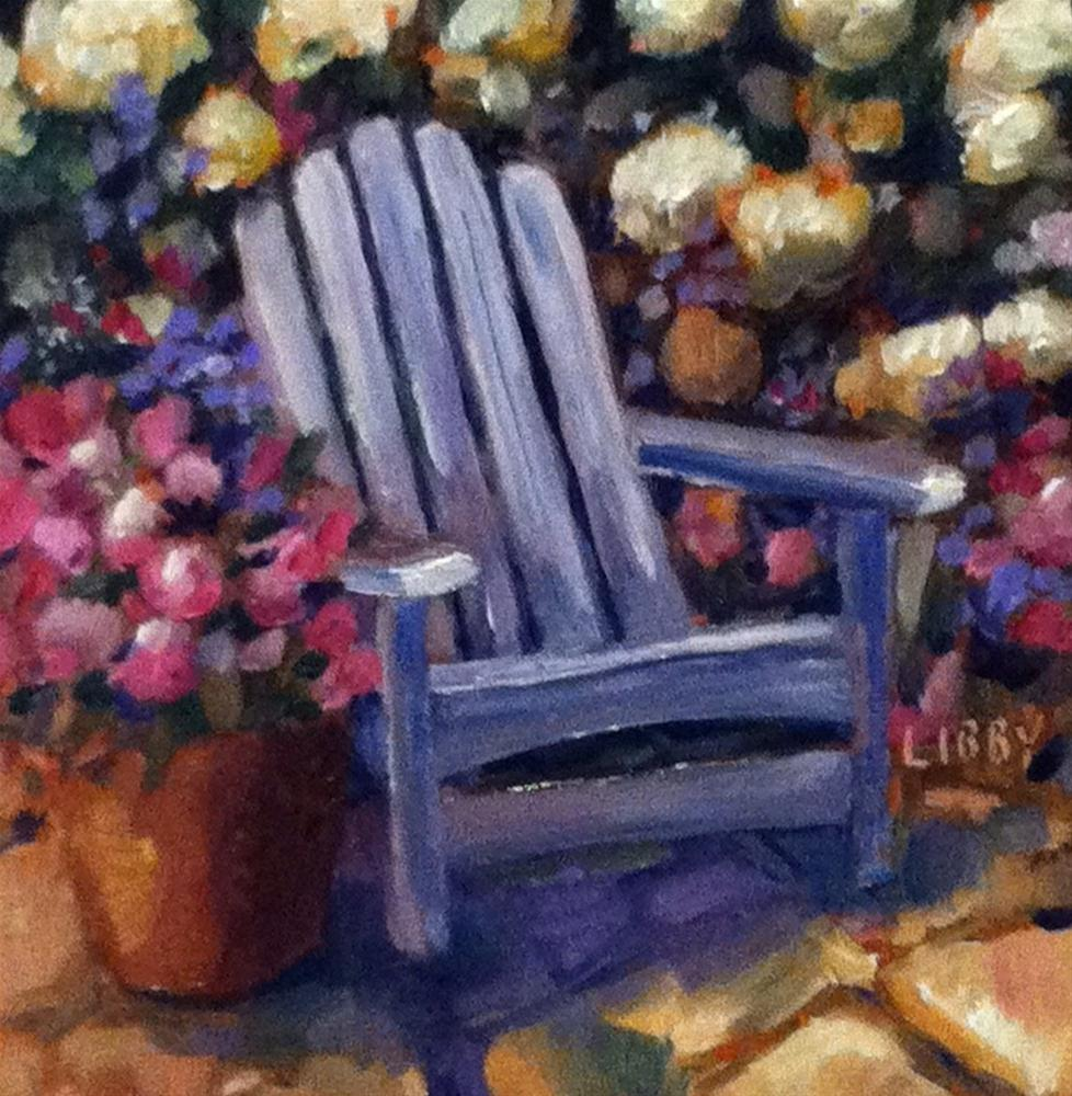 """Adirondack Summer"" original fine art by Libby Anderson"