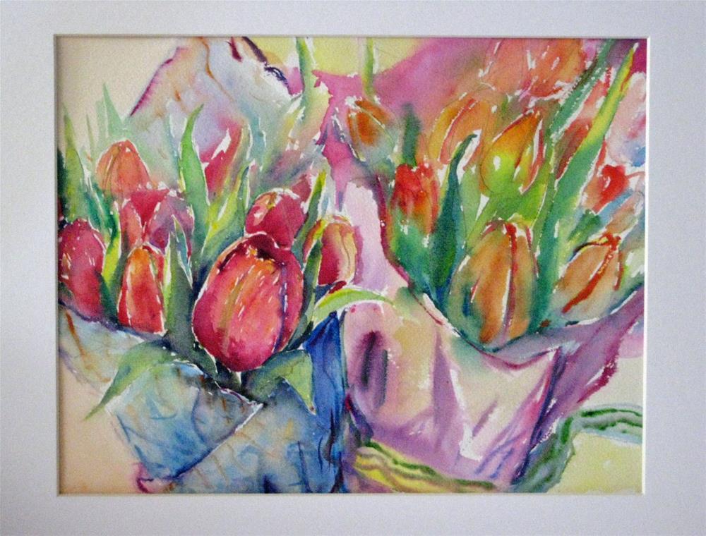"""""""Turips--1"""" original fine art by Wenqing Xu"""