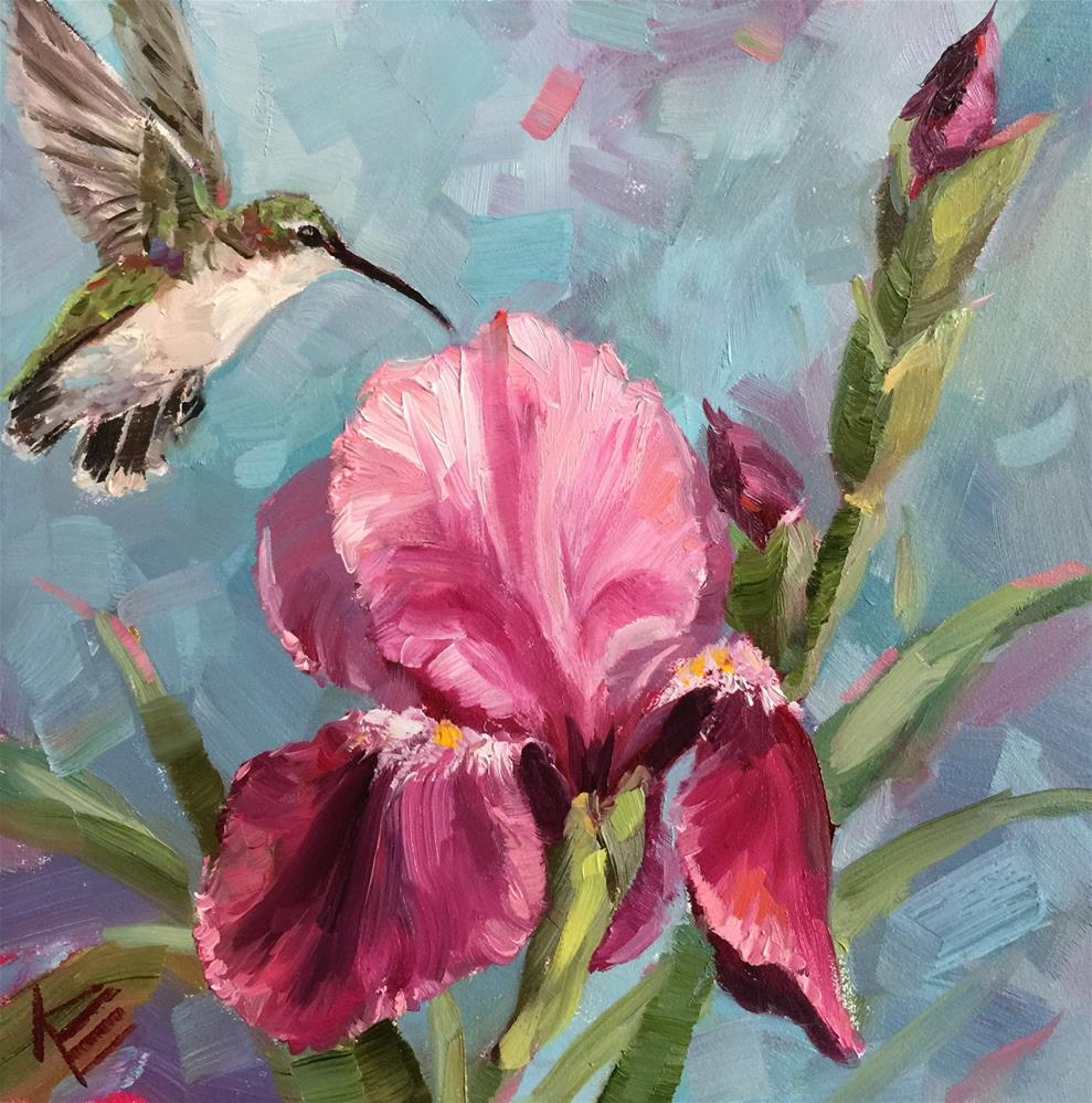 """Morning Flutter"" original fine art by Krista Eaton"