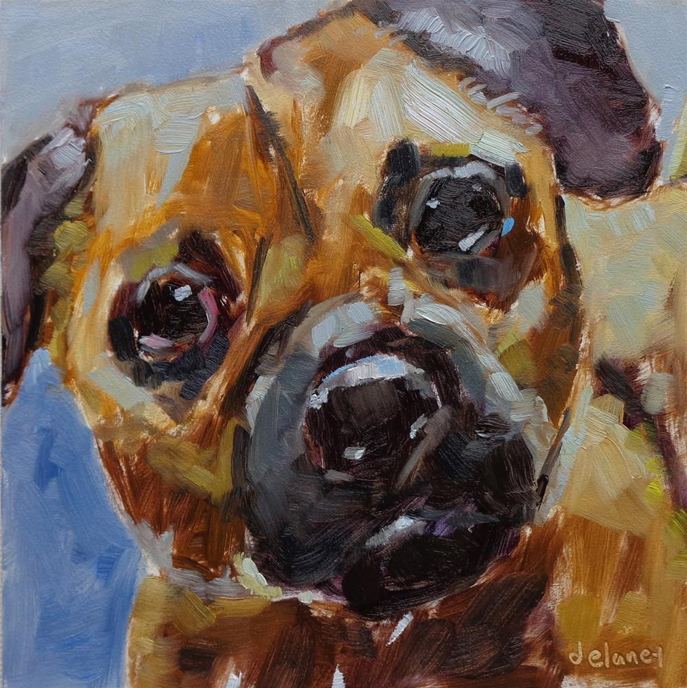 """""""BROGAN"""" original fine art by Jean Delaney"""