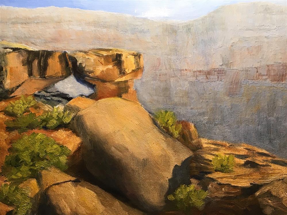"""Green River Arch — Moab, Utah"" original fine art by James West"