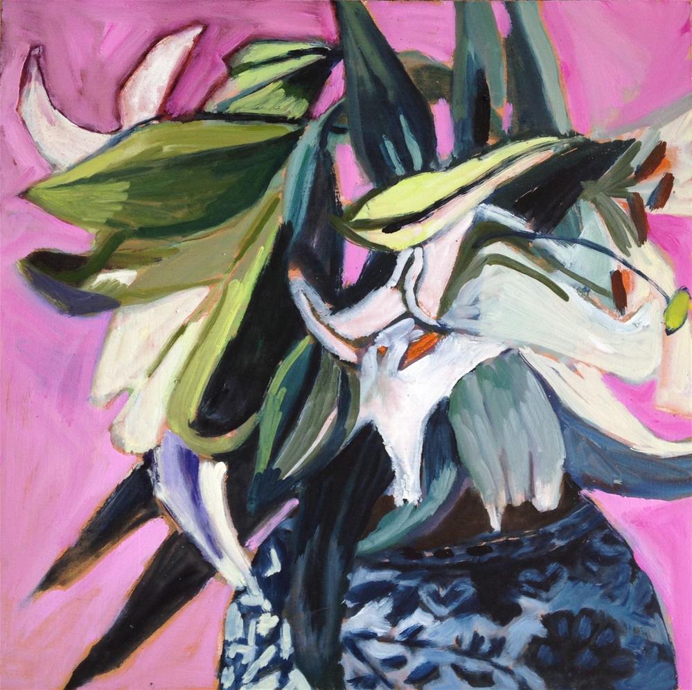 """He Is Risen Indeed"" original fine art by Pamela Hoffmeister"
