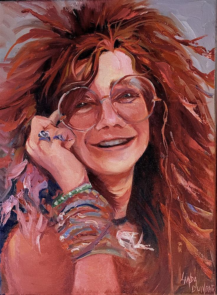 """""""Janis"""" original fine art by Linda Dunbar"""
