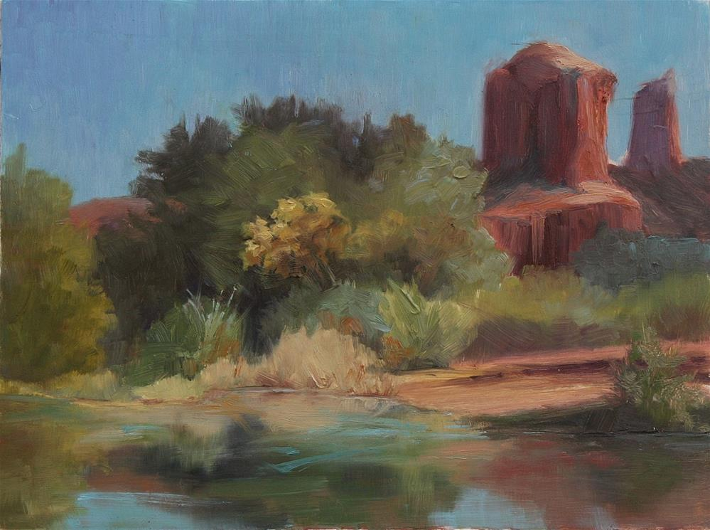 """Sedona Afternoon"" original fine art by Sheila Marie"