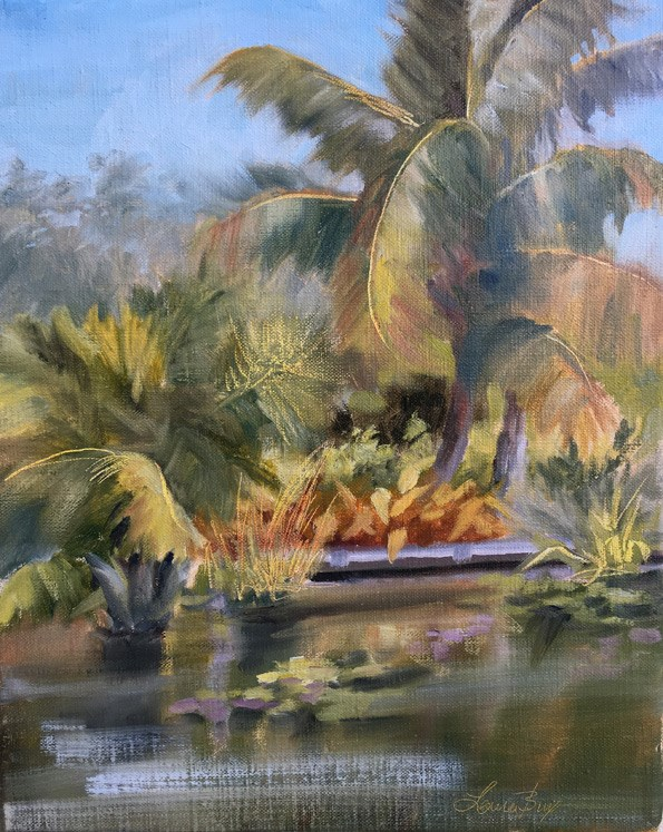 """Bright Sunny Day 503"" original fine art by Laura  Buxo"