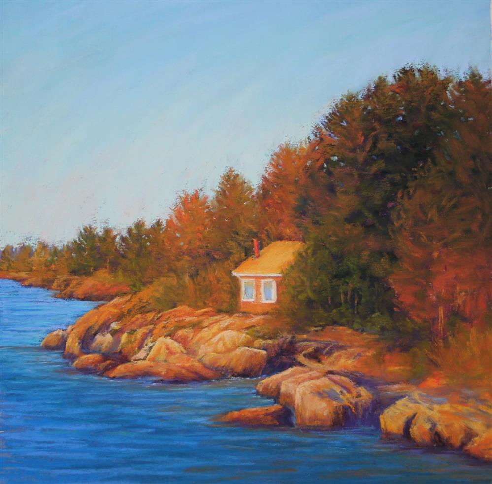 """Coastal Light"" original fine art by Sharon Lewis"