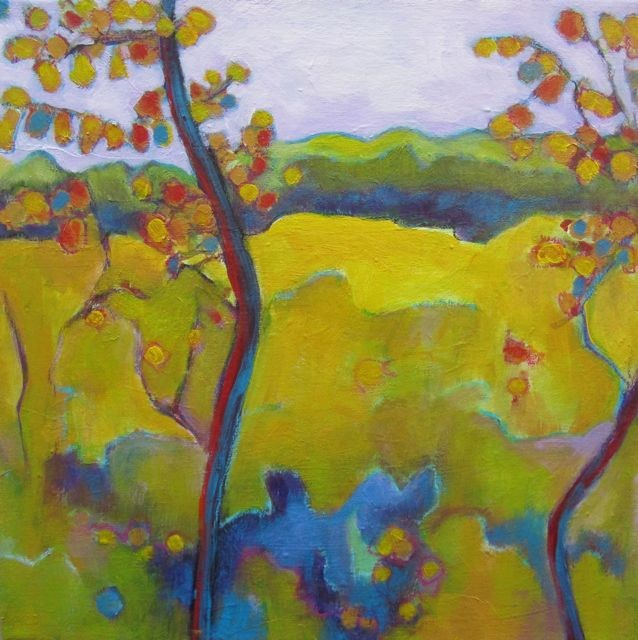 """September Field"" original fine art by Patricia MacDonald"