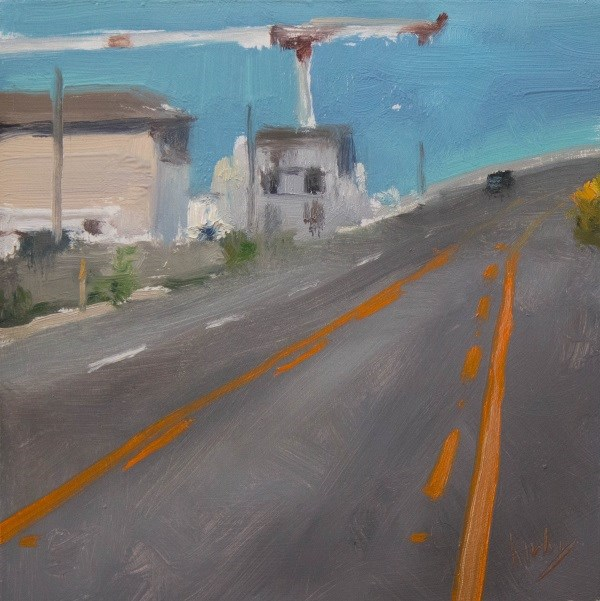 """H Way"" original fine art by Randall Cogburn"