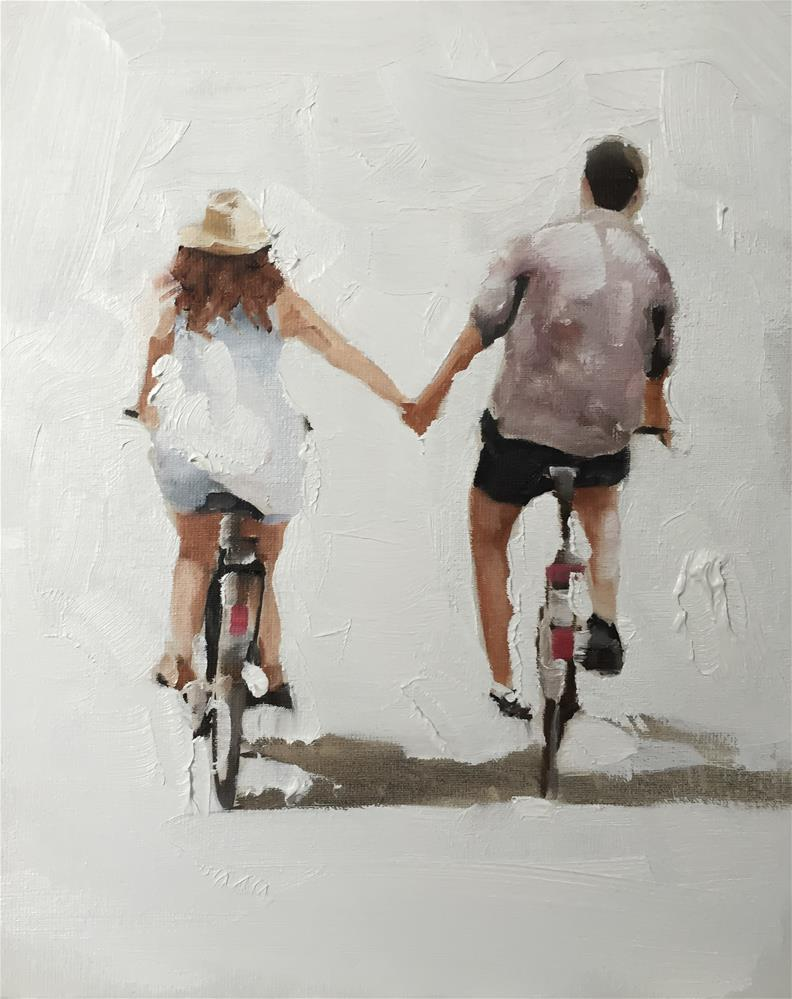 """Sunday Ride"" original fine art by James Coates"