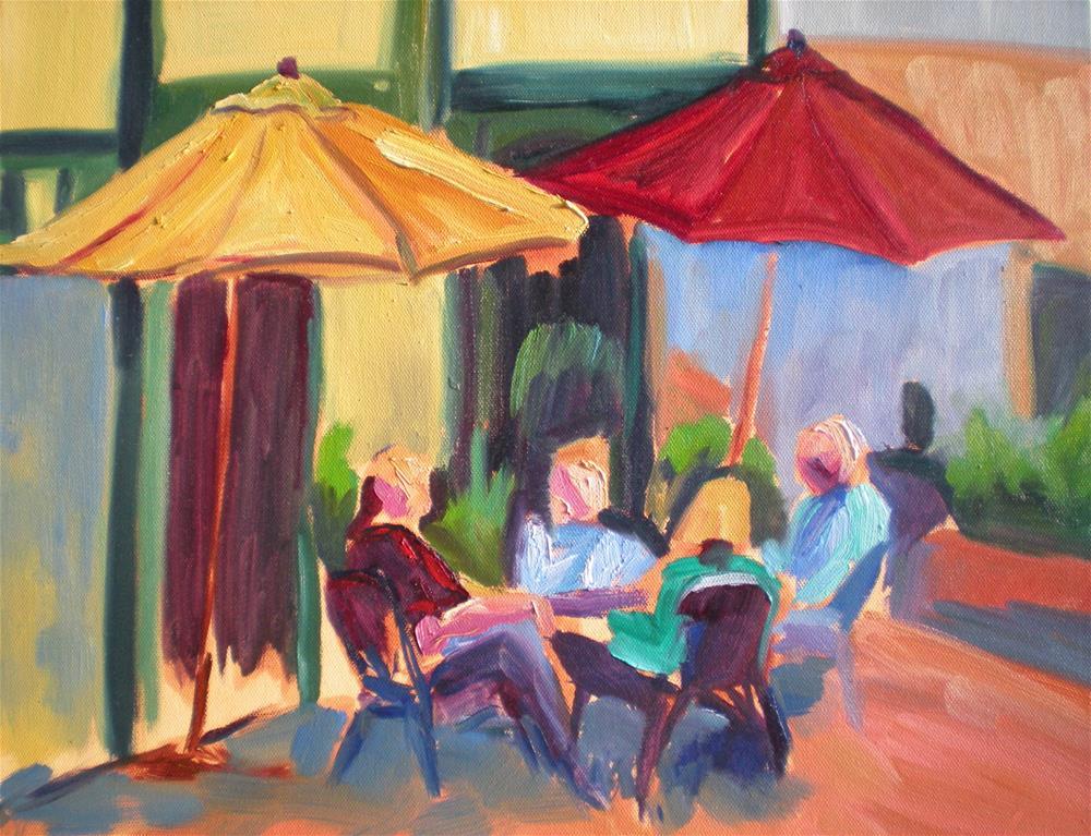 """""""Afternon Respite"""" original fine art by Loralee Chapleau"""