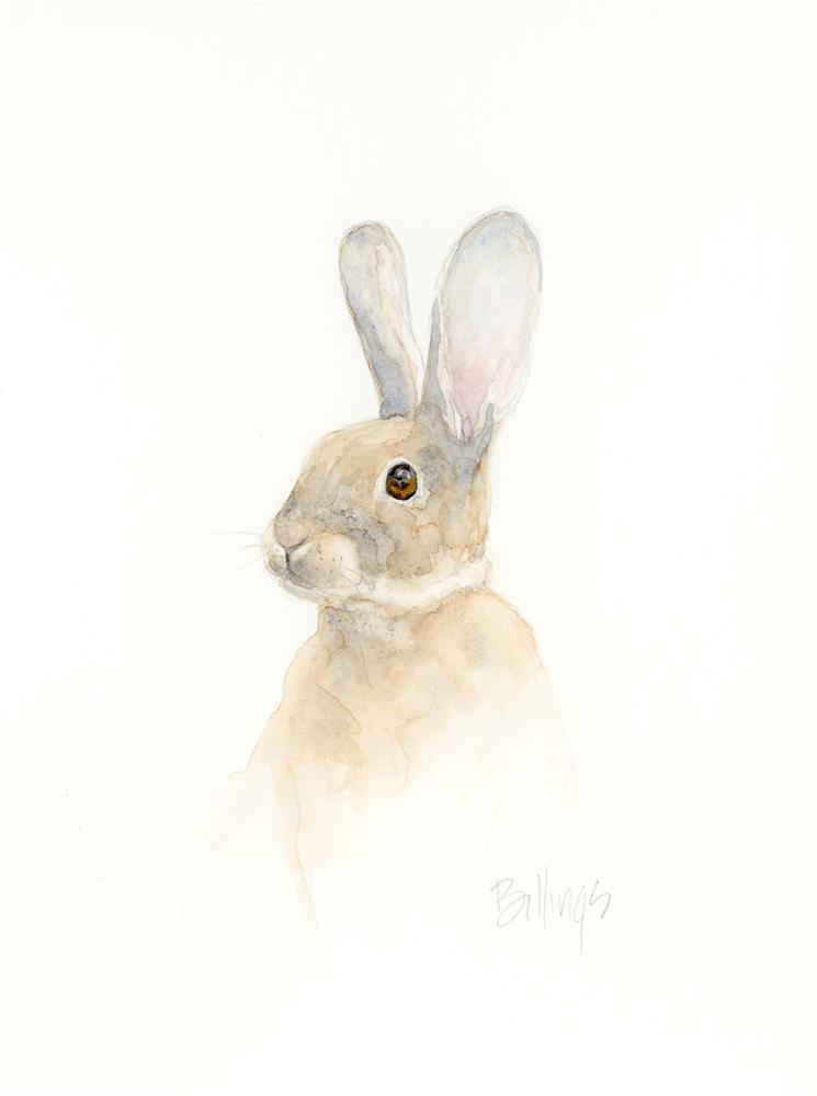 """Pensive I"" original fine art by Susanne Billings"