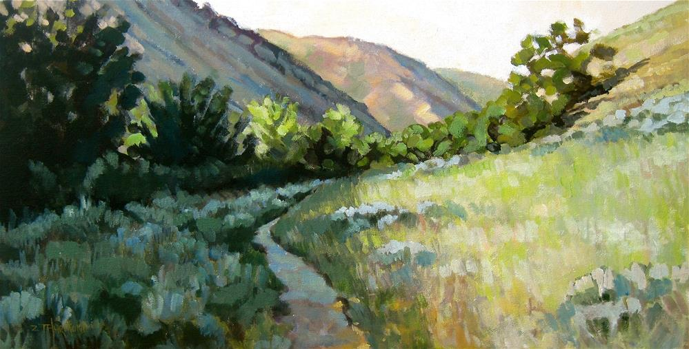 """Foothills A.M."" original fine art by Zack Thurmond"