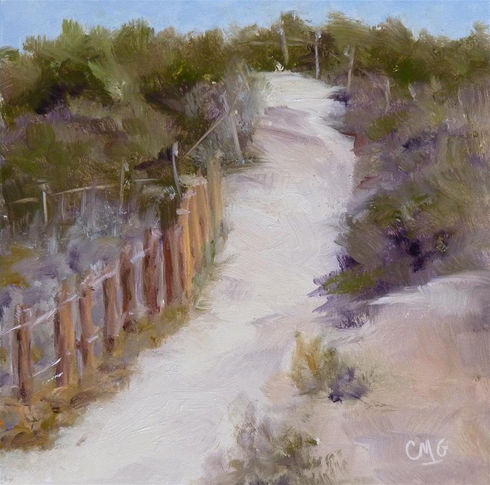 """Path to the Marsh"" original fine art by Cindy Greene"
