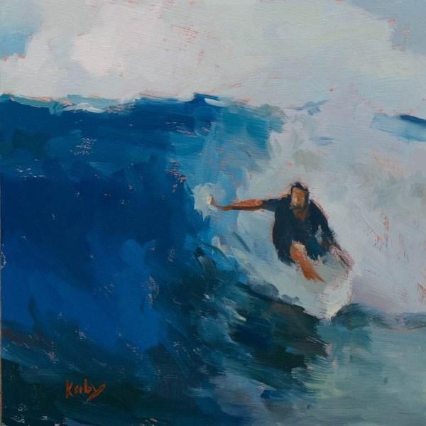 """The Catch"" original fine art by Randall Cogburn"