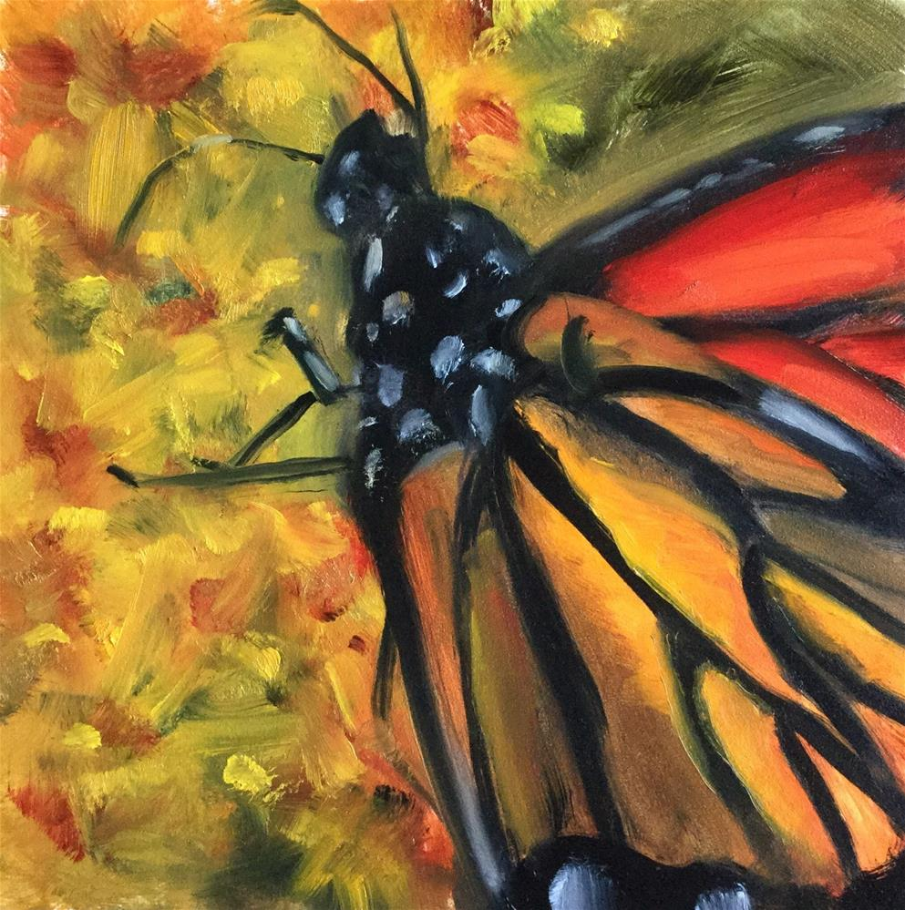 """Nature's Stained Glass"" original fine art by Linda Carney"