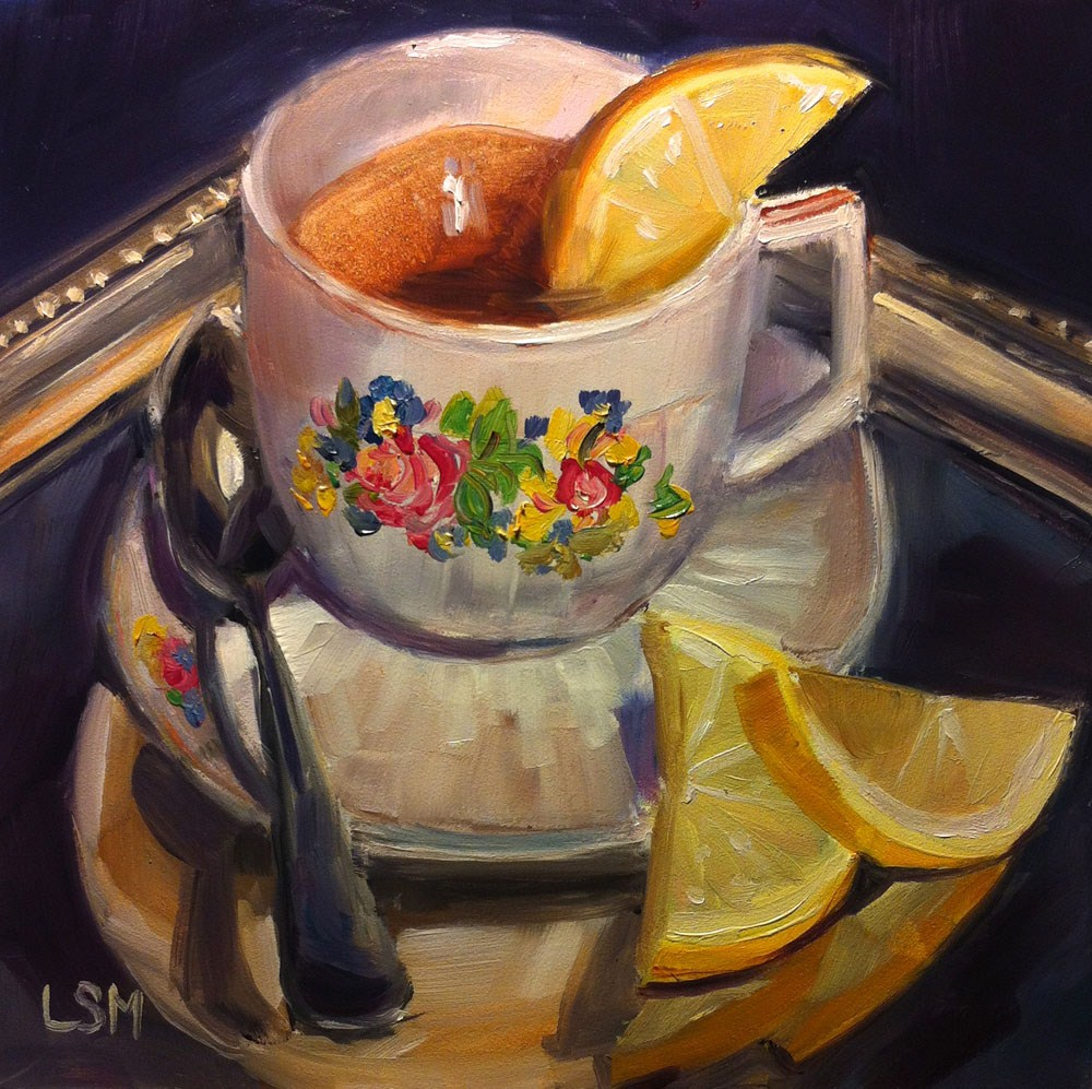 """Quiet Moments"" original fine art by Linda Marino"
