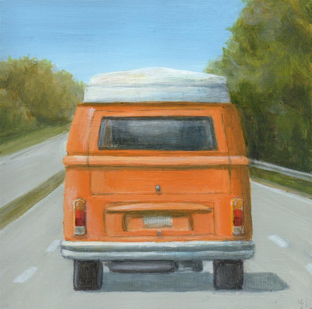 """Road Trip"" original fine art by Debbie Shirley"