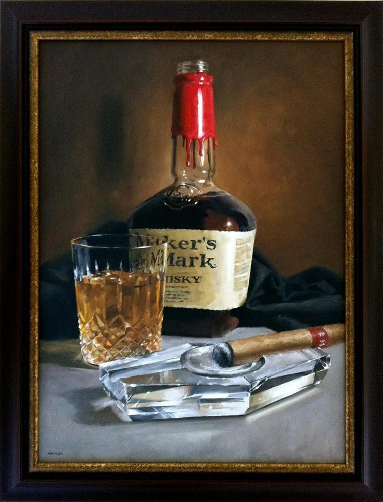 """""""Portrait of Henry"""" original fine art by Michael Naples"""
