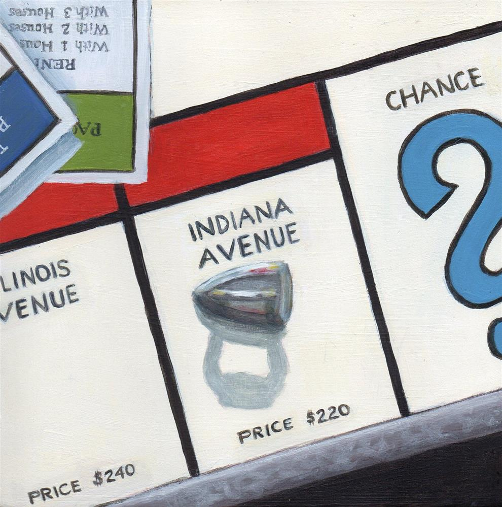 """Indiana Ave."" original fine art by Debbie Shirley"