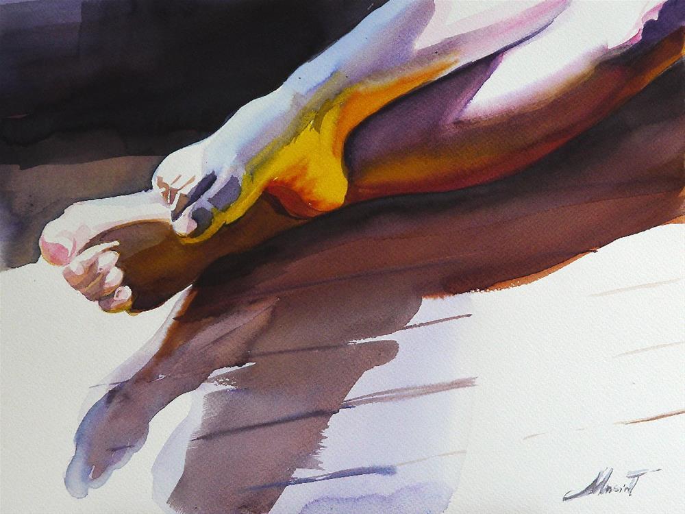 """ballerina"" original fine art by Beata Musial-Tomaszewska"