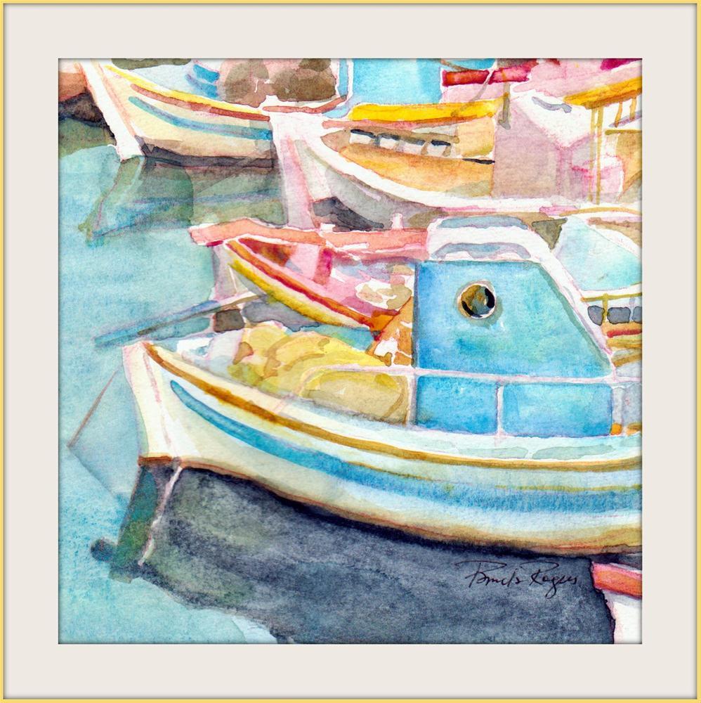 """Spring Fishing"" original fine art by Pamela Jane Rogers"