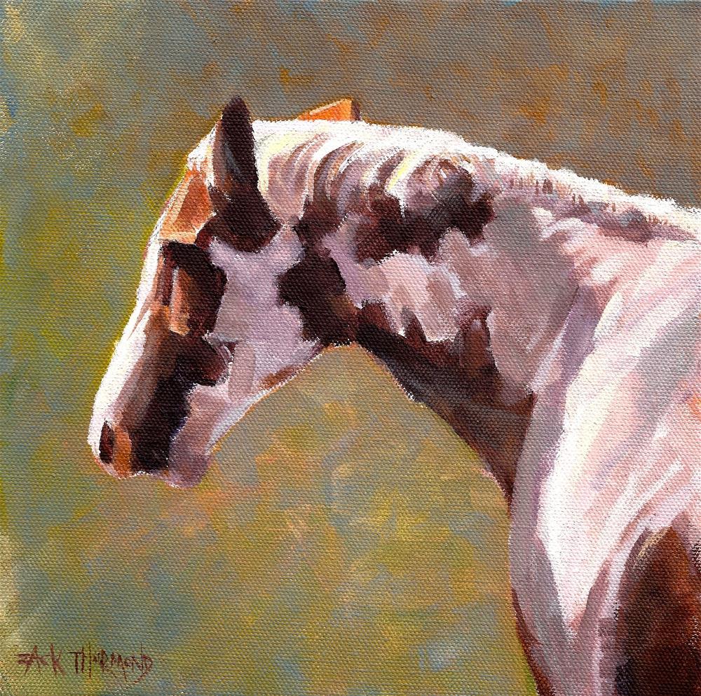 """Castleton Paint"" original fine art by Zack Thurmond"