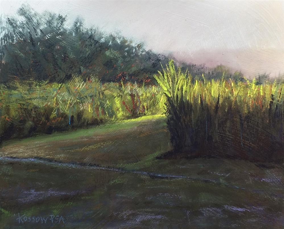 """To The Palisades III"" original fine art by Cristine Kossow"
