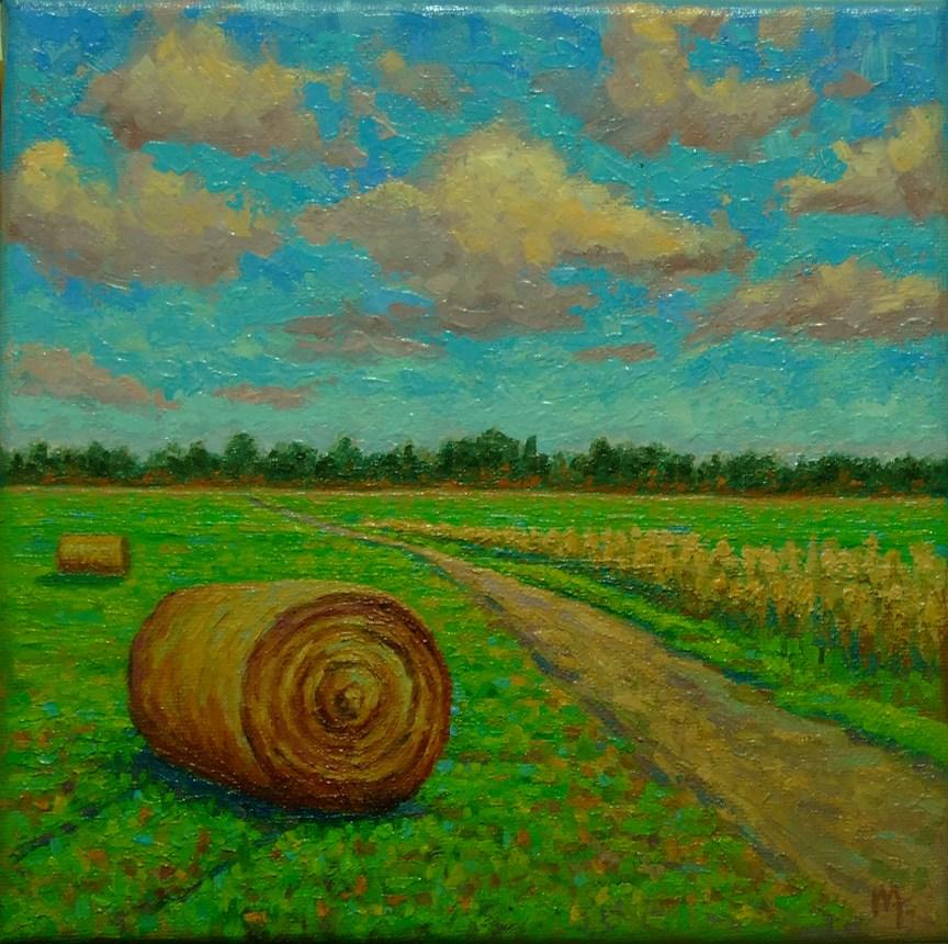 """""""Haystack"""" original fine art by Mark  Attard"""