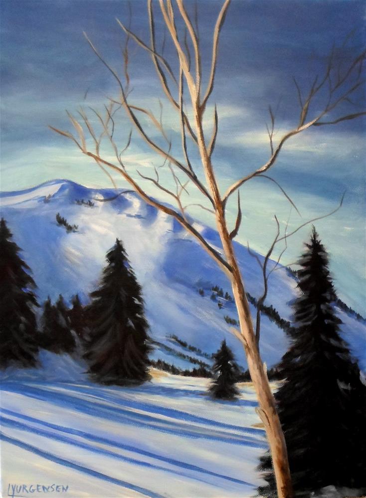 """12 x 16 inch  Acrylic Lone Ranger"" original fine art by Linda Yurgensen"