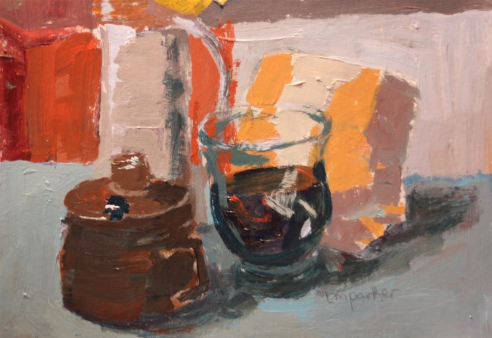 """Still Life Series #3"" original fine art by Christine Parker"
