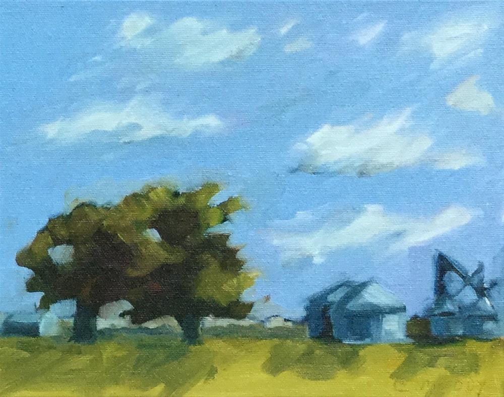 """America's Heartland"" original fine art by Cheryl Moody"