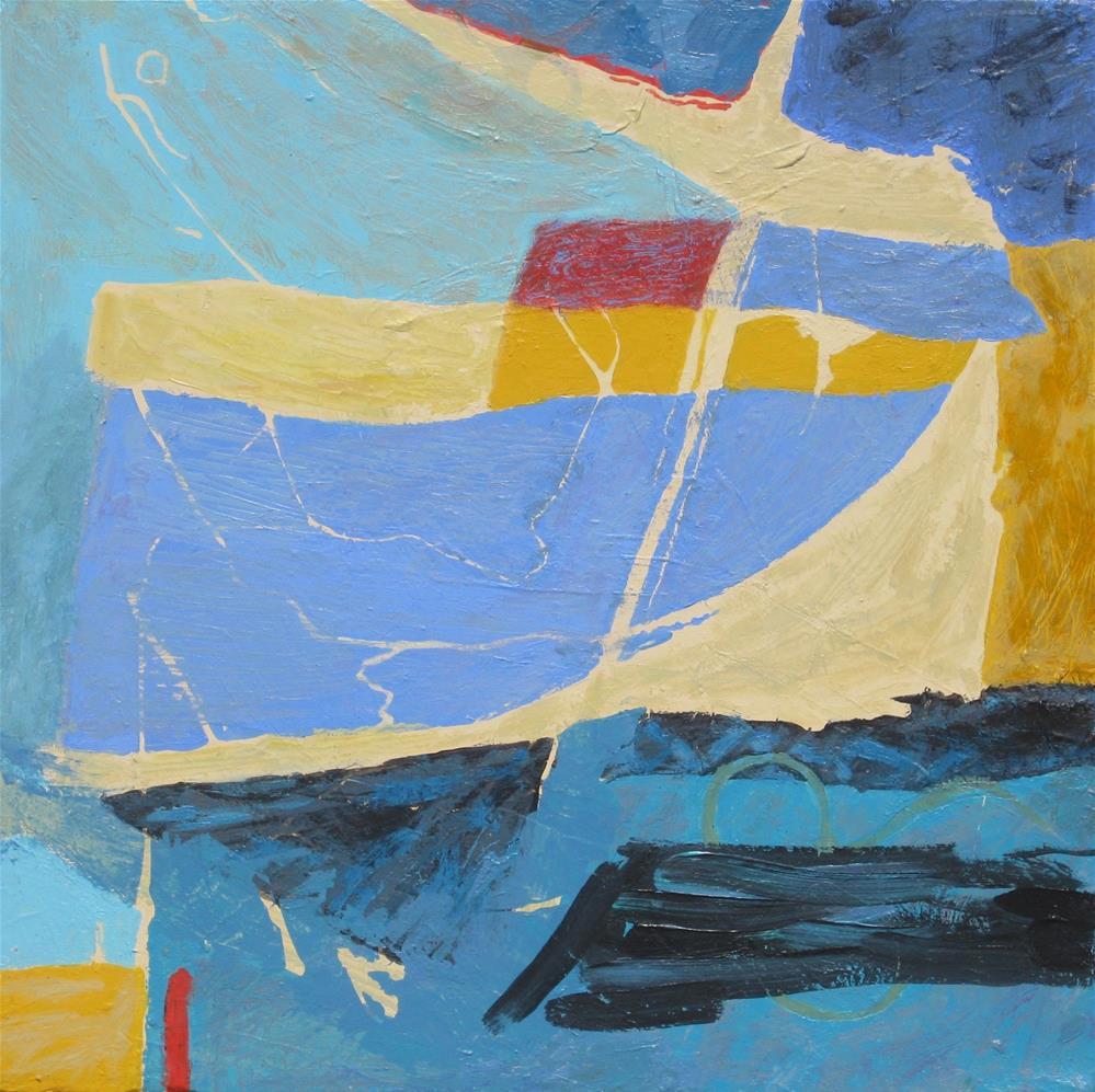 """Short Sail"" original fine art by Priscilla Bohlen"