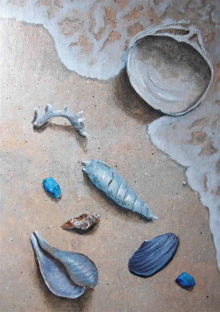 """Washed Up"" original fine art by Terri Nicholson"