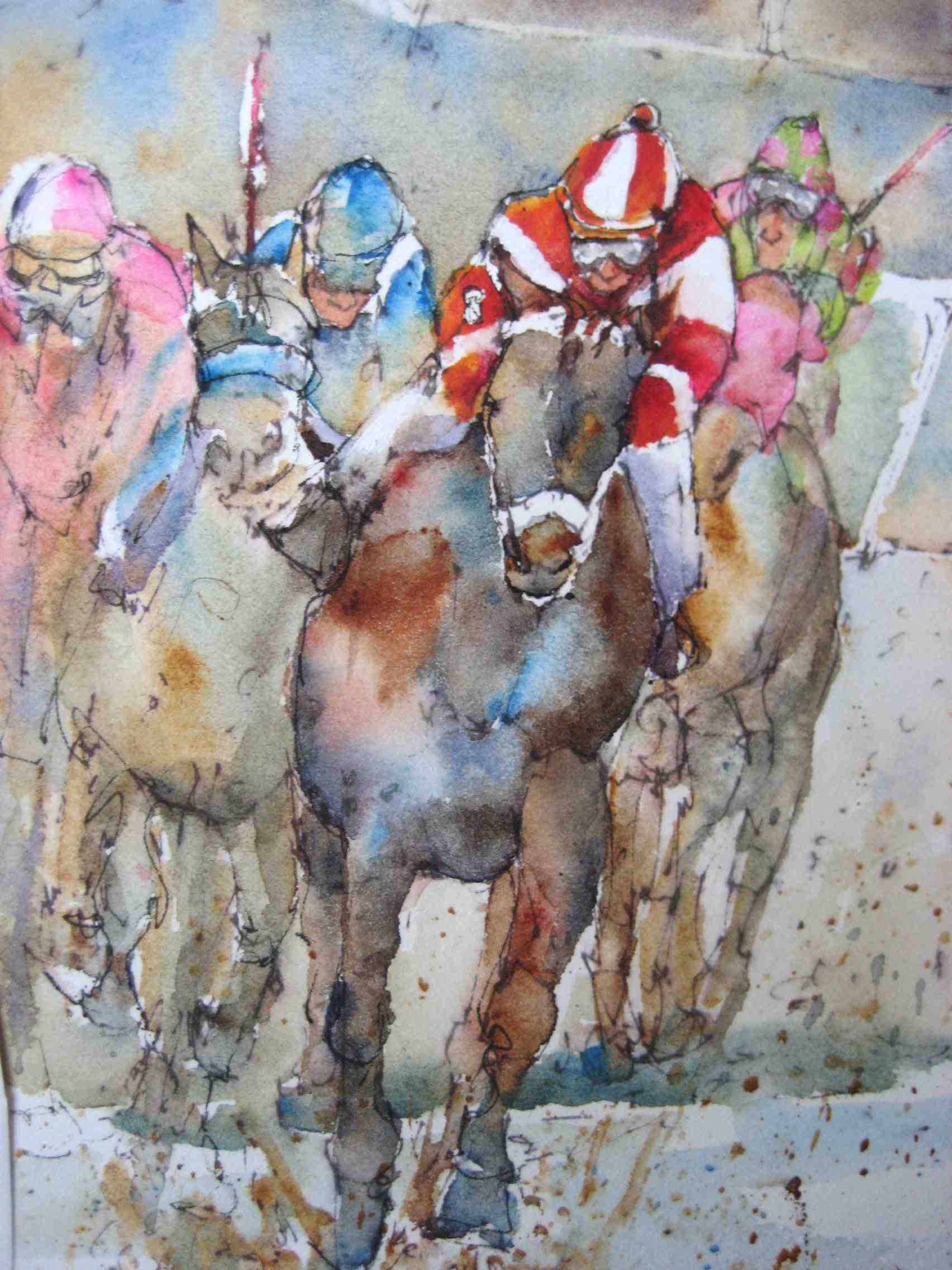 """Bay"" original fine art by Nora MacPhail"