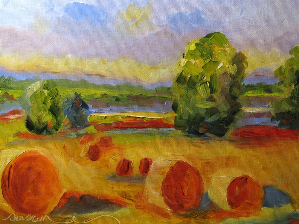 """Landscape Study"" original fine art by Susan Elizabeth Jones"