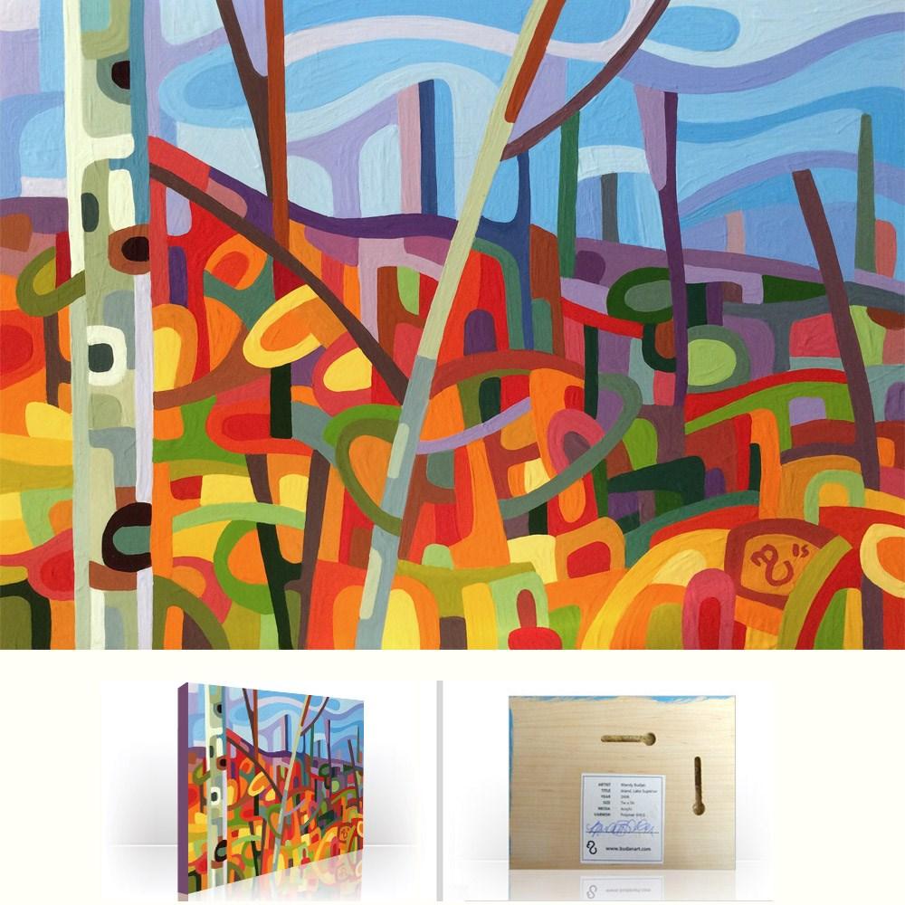 """Landscape Study #78"" original fine art by Mandy Budan"
