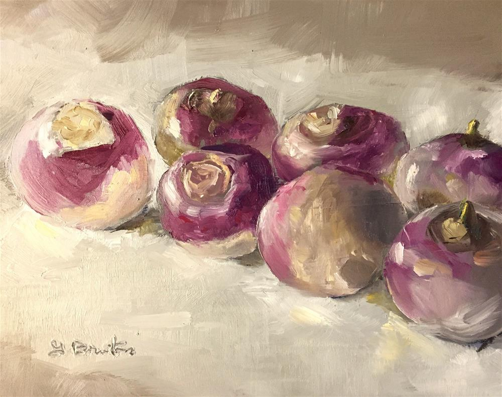 """Turnip Study"" original fine art by Gary Bruton"