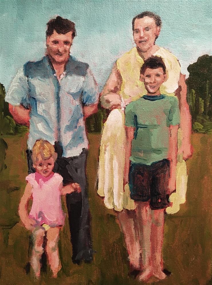 """Remembering family"" original fine art by Susan Elizabeth Jones"