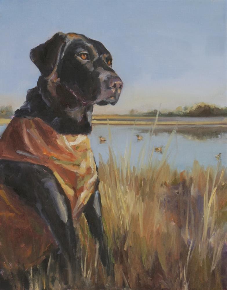 """jack"" original fine art by Carol Carmichael"