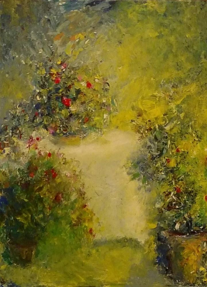 """Bonjour"" original fine art by S. Lynne Price"