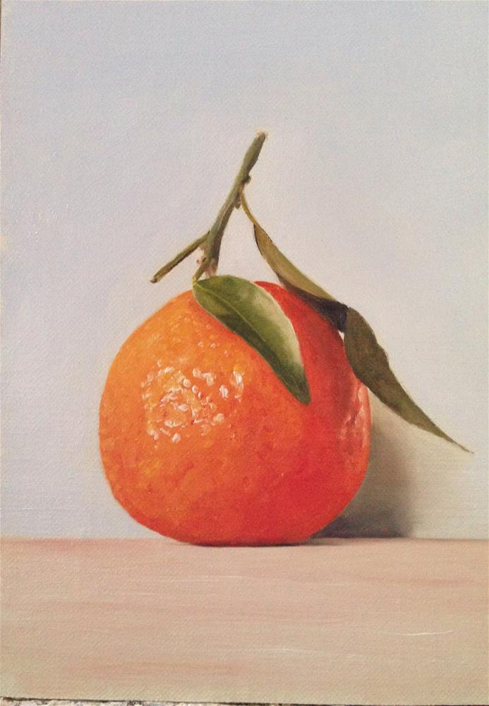 """Orange"" original fine art by James Coates"
