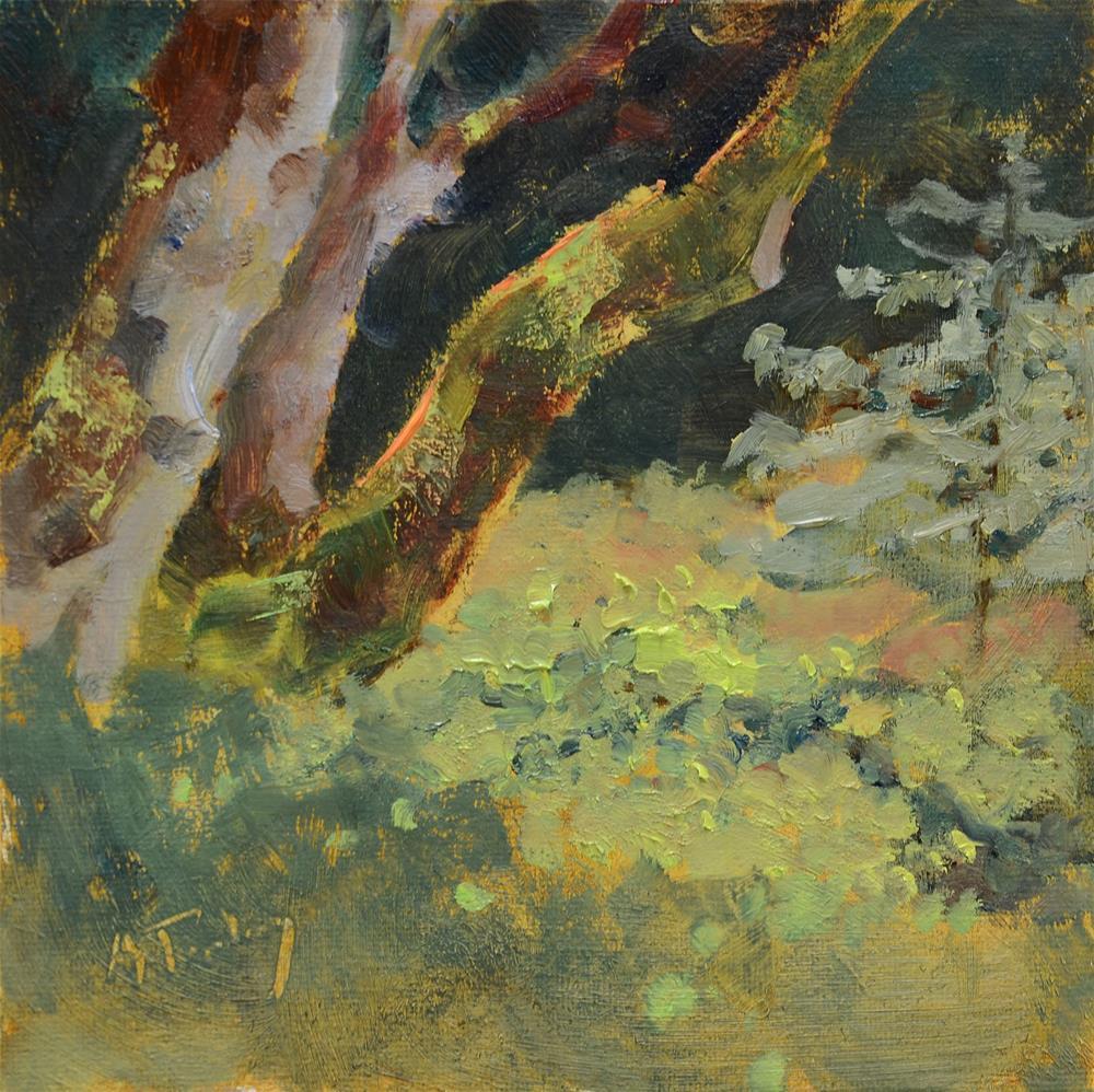 """Driveway Maples"" original fine art by alicia tredway"