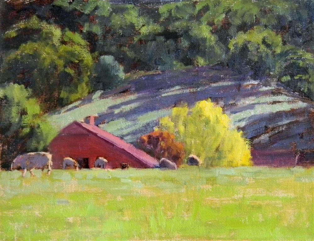 """Sonoma Glow"" original fine art by Barbie Smith"