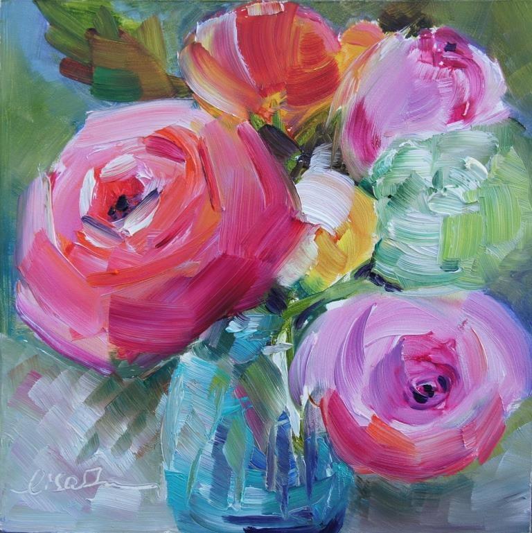 """A Beautiful Day"" original fine art by Lisa Fu"