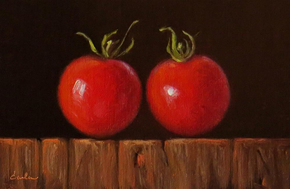 """Sweet Couple"" original fine art by Darla McDowell"