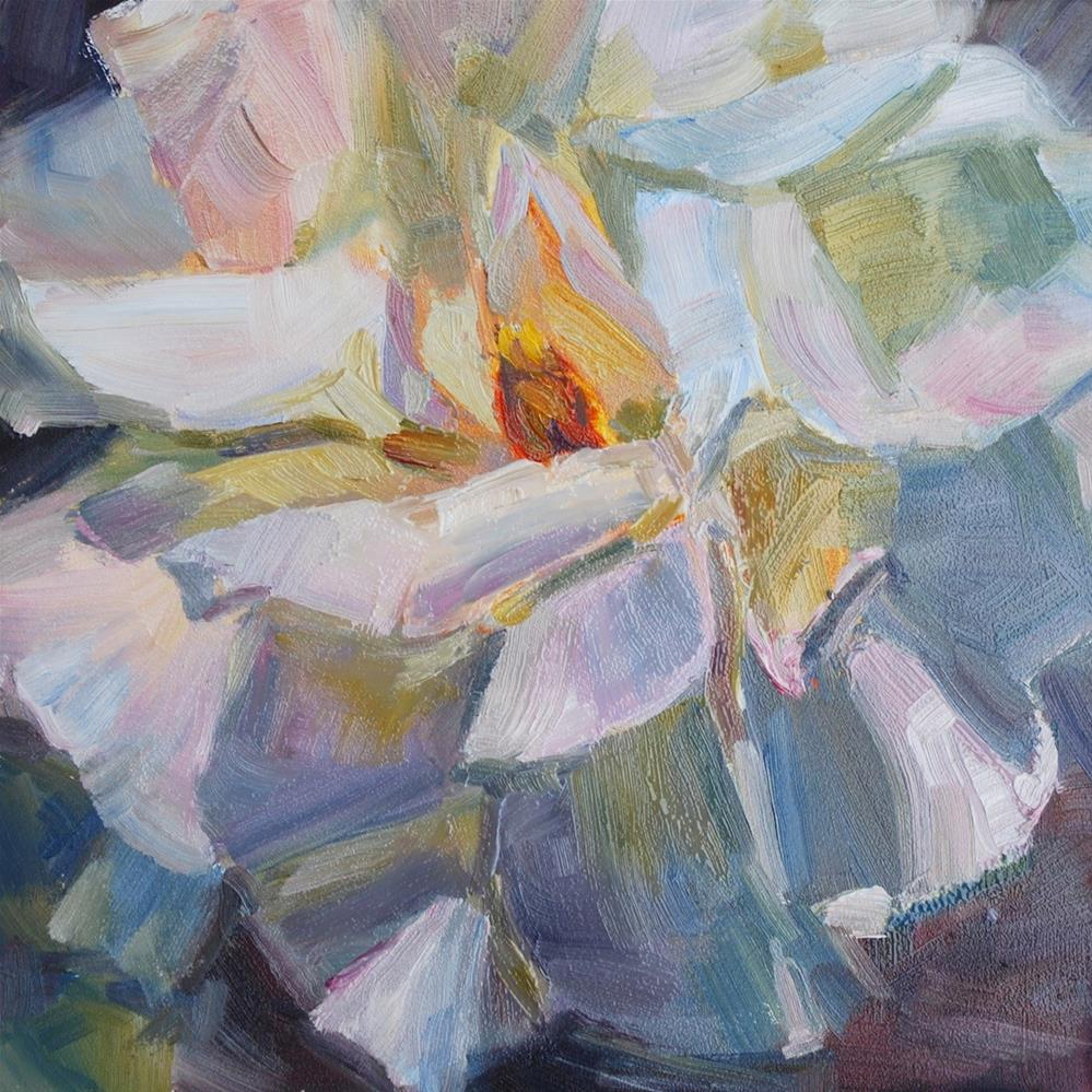 """Full Bloom"" original fine art by Carol DeMumbrum"