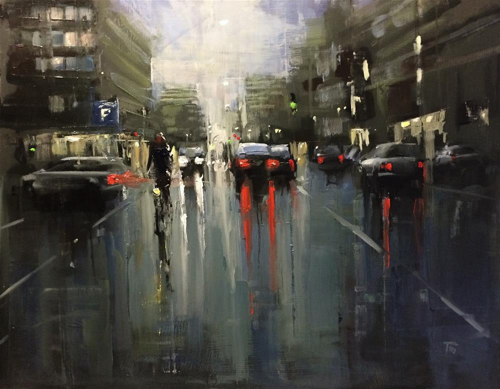 """Wet Final"" original fine art by Thomas Ruckstuhl"