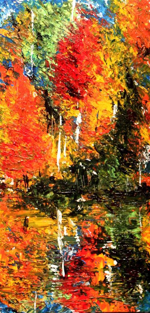 """Autumn Splendour"" original fine art by Joanne Abbott"